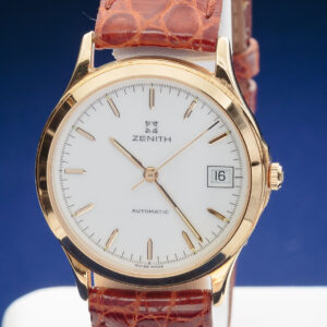 Zenith cassa oro 18KT, automatico, data, fine anni 90 come nuovo un anno garanzia negozio. € 1100.