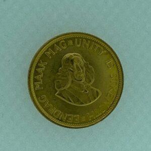 2 RAND SUDAFRICA GR 7,98 DI ORO A 916,66 mm