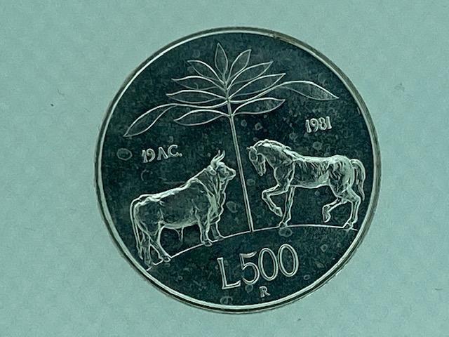 Lire 500 FDC - Virgilio